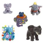 Russ Berri shining Star - Disney Dumbo - Standing elephant - Surprise Inside Elephant - Taggie Grabby Elephant