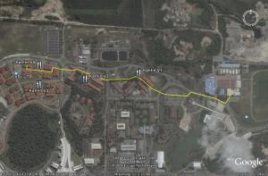 Mencari Sukan pakai Google map